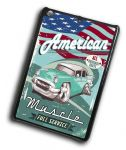 KOOLART AMERICAN MUSCLE CAR Retro Chevy Bel Air Case Cover For iPad Mini